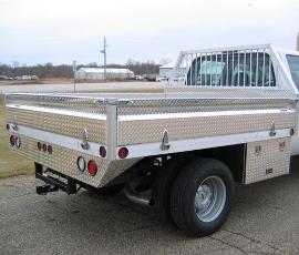 Aluminum Pickup Truck Flatbed