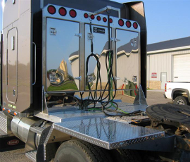 Aluminum Semi Tractor Trailer Accessories